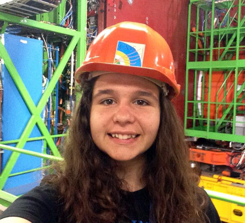 Francisca Vasconcelos toured CERN over the summer and created an app to teach physics.