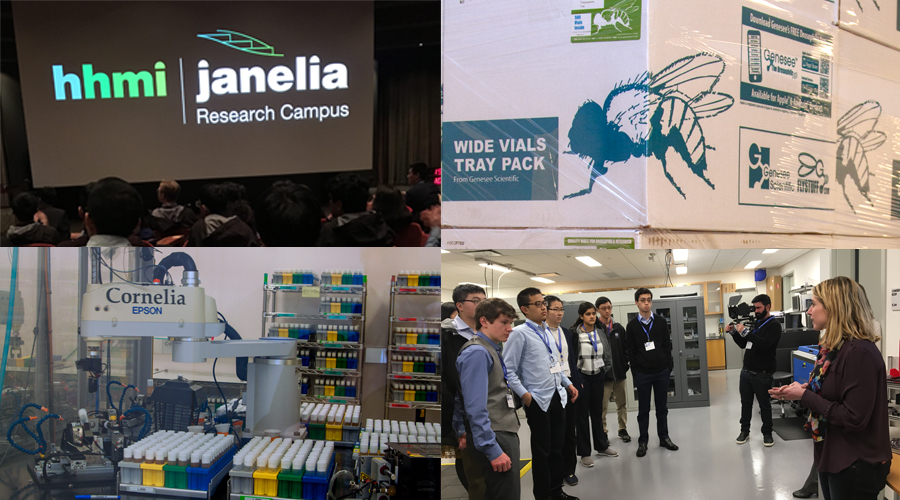 The Regeneron STS 2018 finalists enjoyed a visit to the HHMI Janelia Research Campus.