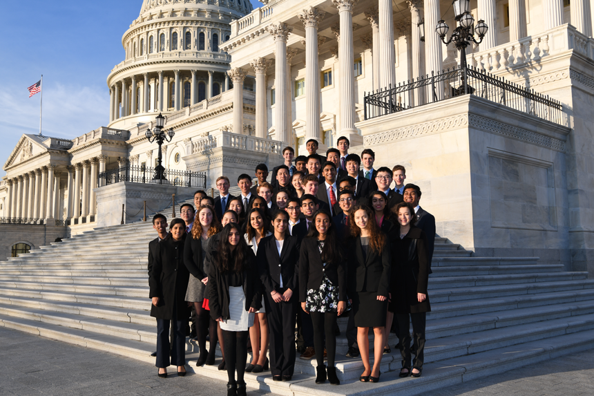 2018 finalists at the US Capitol