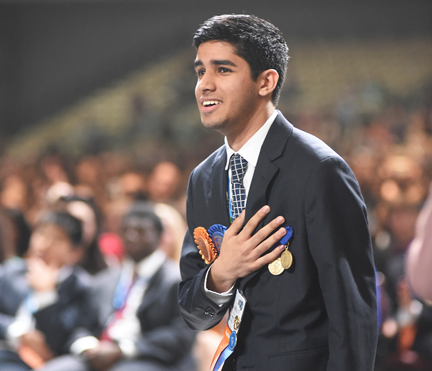 Karan Jerath, an Intel ISEF 2015 finalist, was recently named one of Forbes 30 Under 30.