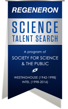 regeneron science talent search society for science the public