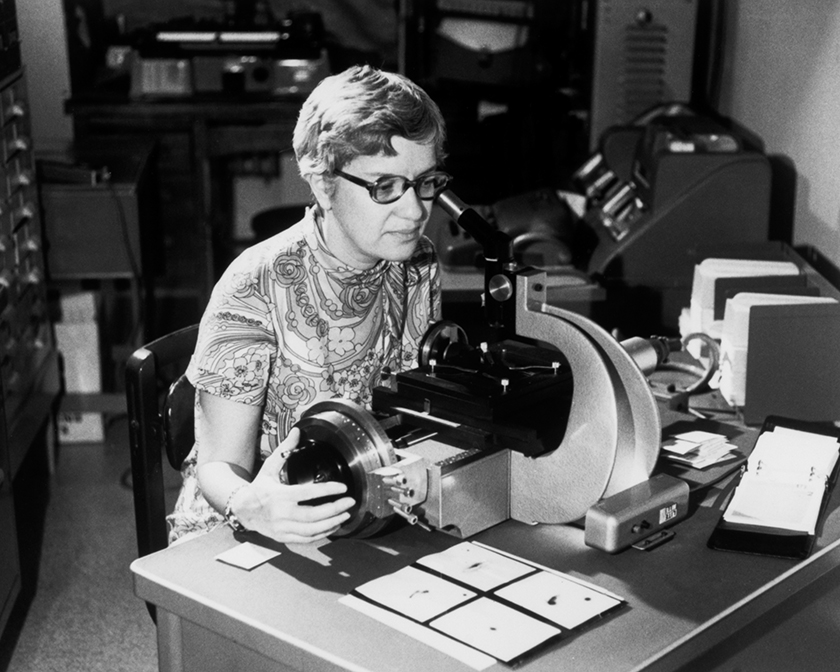 Vera Rubin was a passionate astronomer who confirmed the existence of dark matter.
