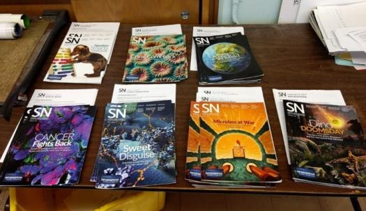 SNHS includes educator guides to go along with SN magazines.