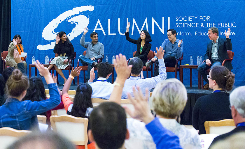 Society alumni discussed how the Society prepares young people for meaningful careers at Stanford University.