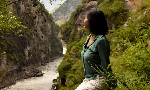 Bonnie works to conserve places like Tiger Leap Gorge, China.