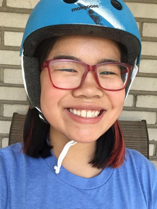 Tina created a wind reduction device for people who use hearing aids.