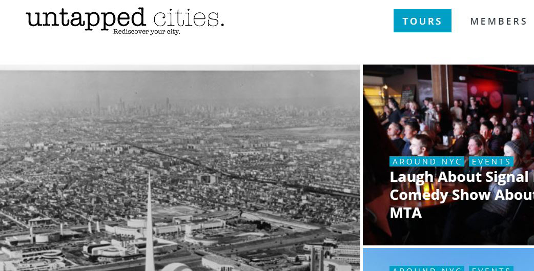 Untapped Cities is a publishing and tourism website founded by Michelle Young.