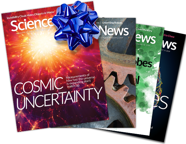 Science News Covers