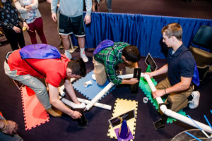 Students at Education Outreach Day