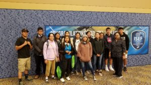 Grey Hill Academy Students at ISEF Education Outreach Day