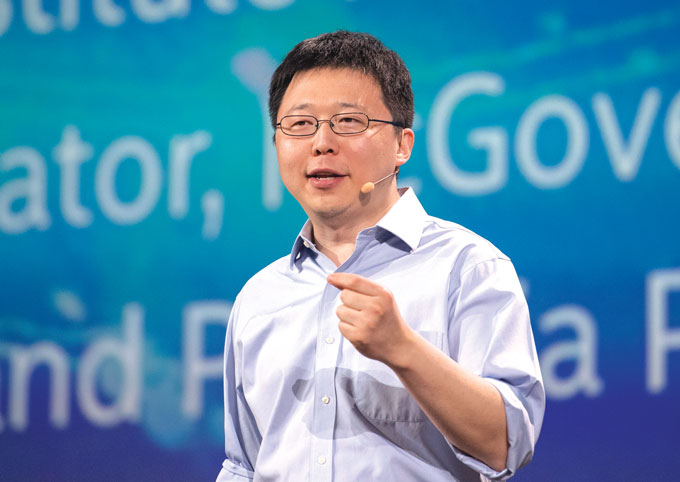 Feng Zhang, Core Institute Member at the Broad Institute and Professor at MIT