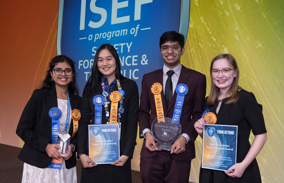 2019 ISEF top award winners