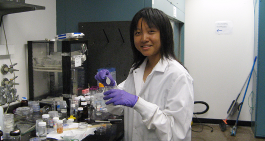 Jessica Tian created a chemical dip to keep treated paper, fabrics, and more free of harmful bacteria.