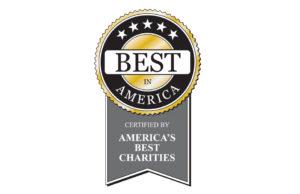 America's Best Charities logo accredited charity Best In America