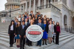 Broadcom MASTERS finalists on Capitol Steps
