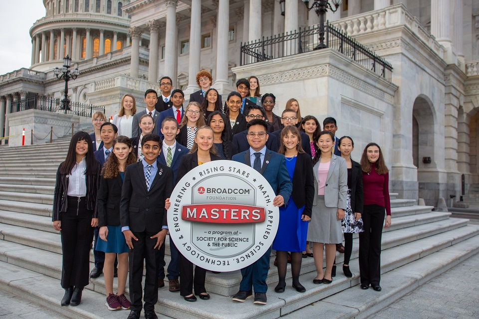 Broadcom MASTERS finalists on Capitol Steps