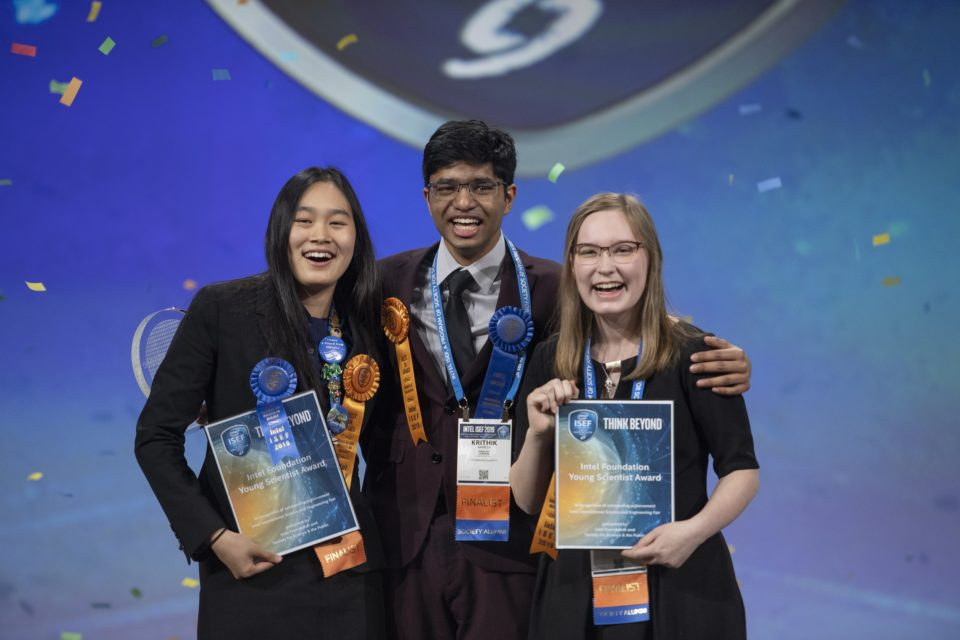 Top Three Grand Award Winners at ISEF 2019