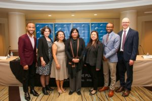 Maya Ajmera with 2019 BCM Career Panelists