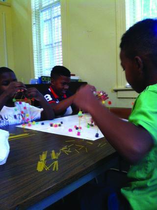 Lillie Bryant summer camp gummy tower.