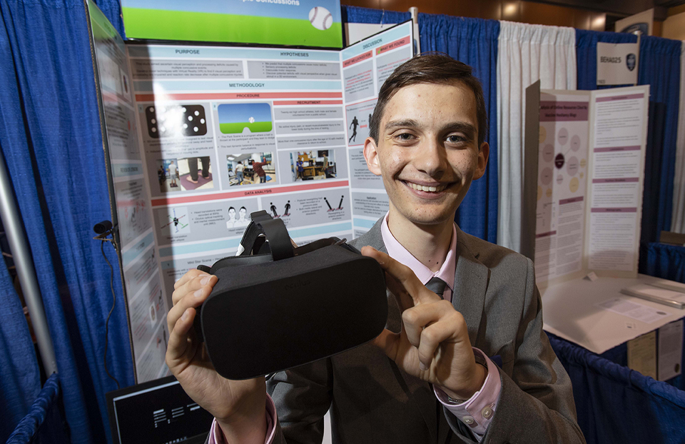 ISEF Category Behavioral and Social Sciences, Giovanni Santucci, USA