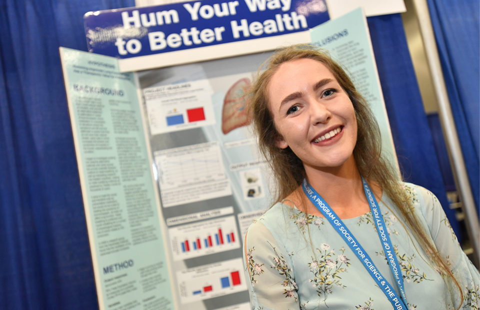 Biomedical and Health Sciences ISEF Category - Caolann Brady, Ireland, 2017