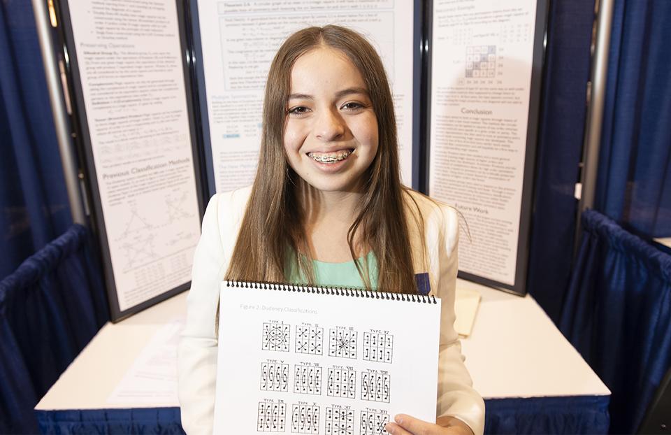 ISEF Category Mathematics, Ana Maria Perez, USA