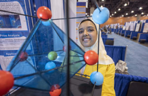 ISEF Category Materials Science, Nora Aldossary, Saudi Arabia
