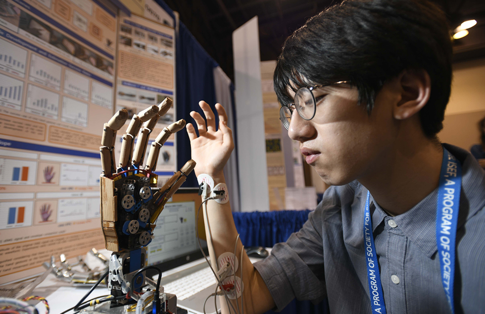 ISEF Category Robotics and Intelligent Machines