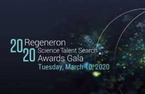 Regeneron STS Gala awards banner