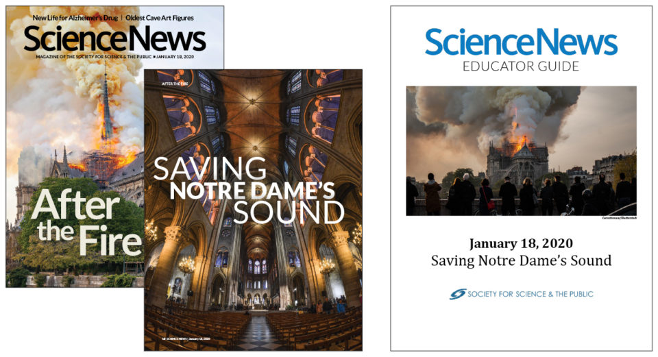 SNHS Educator Guide: Saving Notre Dame's Sound