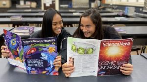 students reading SN