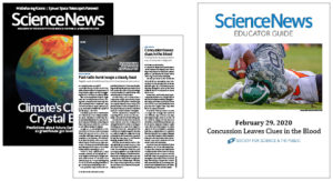 SNHS Educator Guide - Concussion Leaves Clues in the Blood