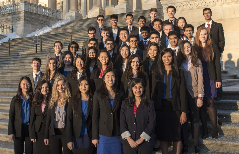 Science Talent Search Finalists - Capitol Steps 2015