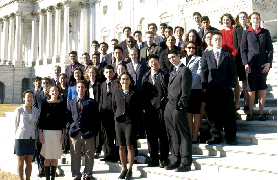 Intel Science Talent Search - 2002 Capitol Steps