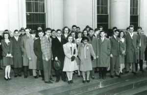 1944 Science Talent Search finalists at the White House