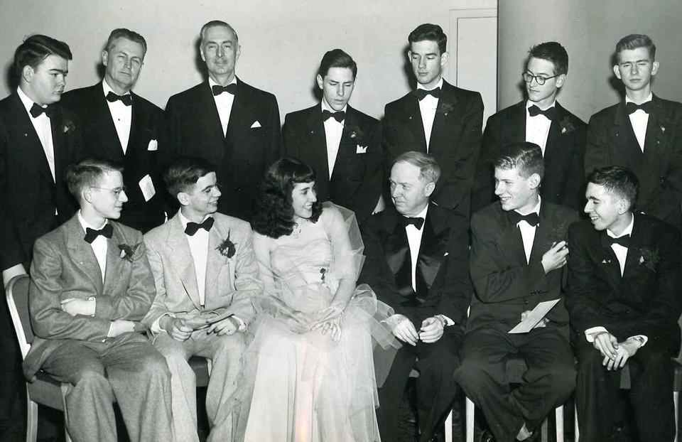 1953 Science Talent Search Top Ten finalists. Westinghouse STS.