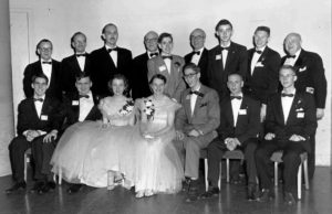 1954 Science Talent Search Top Ten finalists. Westinghouse STS.