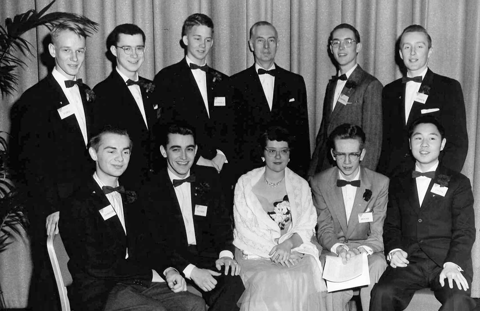 1956 Science Talent Search Top Ten finalists