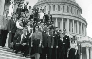 1961 Science Talent Search finalists at the Capitol