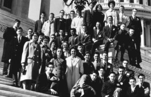 1962 Science Talent Search finalists at the Capitol.