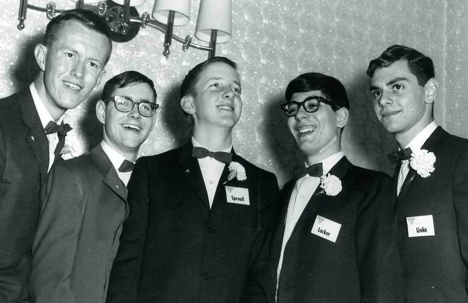 1964 Science Talent SearchTop Five
