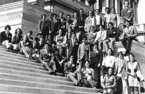 1972 Science Talent Search finalists at the Capitol.