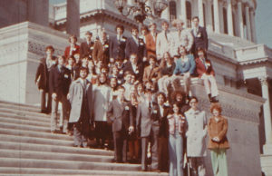 1974 Science Talent Search finalists at the Capitol.
