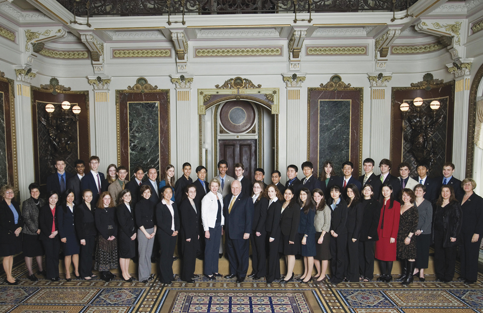 Science Talent Search 2007 with Vice President Dick Cheney