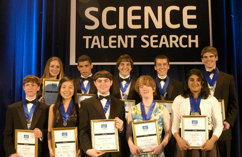 Science Talent Search Top Ten - 2008