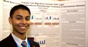 Intel STS 2011 finalist Alydaar Rangwala