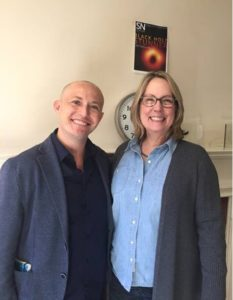 Pablo with Nancy Shute, Editor in Chief of Science News