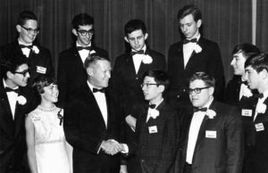 1968 Science Talent Search Top Ten finalists. STS. Westinghouse.