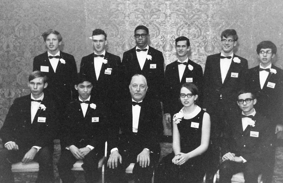 1969 Science Talent Search Top Ten finalists. STS. Westinghouse.