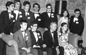 1970 Science Talent Search Top Ten finalists. STS. Westinghouse.